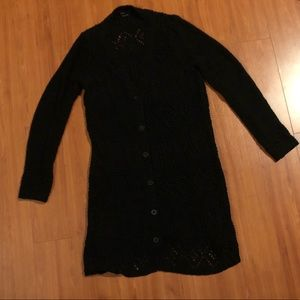 BCBG MaxAzria Long Sweater size XL